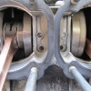 RZ350(4U0) コンロッド大端ベアリング破損 2