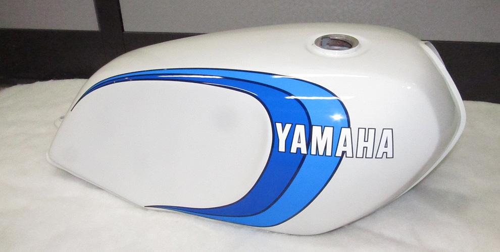 初期型350カラー ホワイト/ブルー
